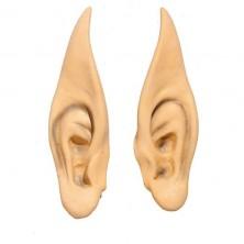 Špicaté uši veľké