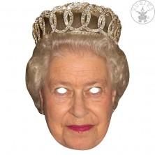 Queen - kartónová maska pre dospelých