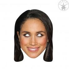 Meghan Markle - kartónová maska pre dospelých