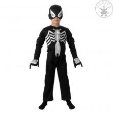 Black Spiderman Deluxe - detský