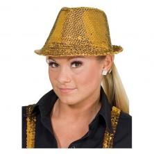 Flitrový klobúk