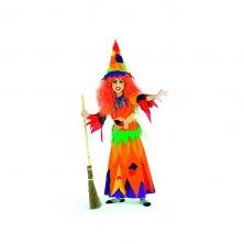 Hexe Kunterbunt - kostým čarodejnice