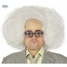 Biela parochňa s vysokým čelom - vedec
