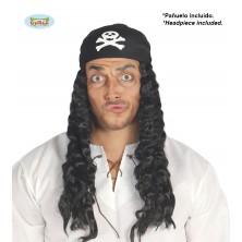 Pirátska parochňa so šatkou
