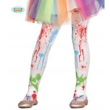 Detské farebné pančuchy 5 - 9 rokov