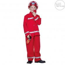 Hasič - červený kostým