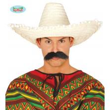 Mexický klobúk 50 cm s pomponem
