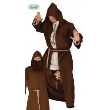 Mních - plášť s kapucňou