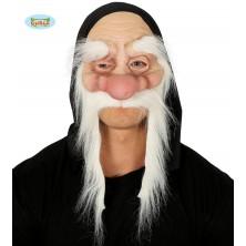 Maska škriatok s obočím a fúzy