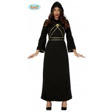Čierna tunika s pásmi dámska