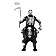 Kostým smrťák na chrbte