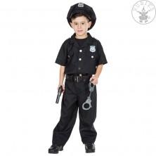 Policajný dôstojník - kostým