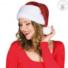 Vianočná čiapočka lurexová