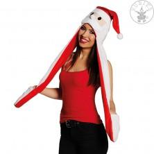 Vianočná čiapočka s šálom
