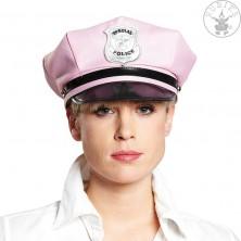 Policajná čiapka ružová vel. 57