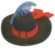 Mušketierský klobúk 56