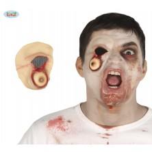 Imitácia zranenia - vytečené oko