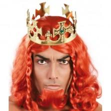 Kráľovská koruna plast