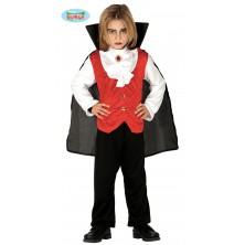 Vampíra - detský kostým