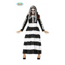 Skeleton - dlhé šaty