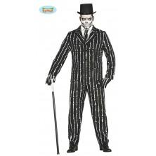 Oblek s kostičkami