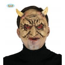 Satan - maska s rohmi