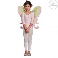 Detská motýlie krídla dúhová