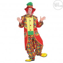 Klaun - károvaný kostým