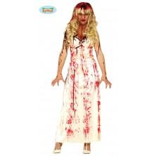 Krvavé biele šaty