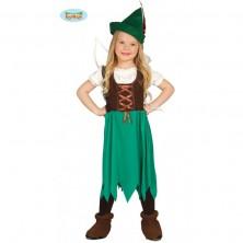 Robin Hood - dievčenský kostým