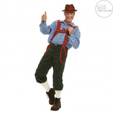 Tirolské nohavice dlhé