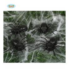 Pavúky čierni - 4 kusy