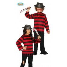 Malý Freddy Krueger kostým