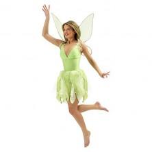 Zvonilka - kostým s krídlami - licenčný kostým