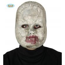 Porcelánová bábika - maska