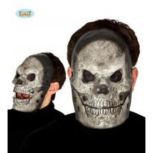 Maska SKULL sivá