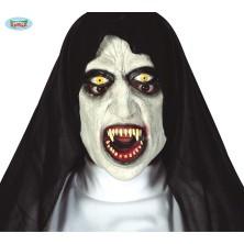 Latexová maska mníška