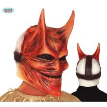 Latexová maska diabla