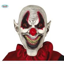 Latexová maska psycho klaun
