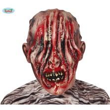 Latexová maska zombie bez očí
