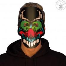 Ľad svietiace maska Halloween