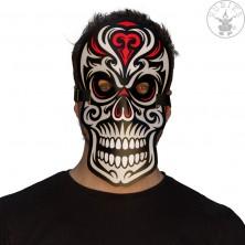 Led svietiaca maska Skull
