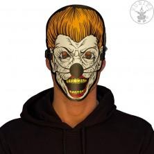 Led svietiaca maska Scary Clown