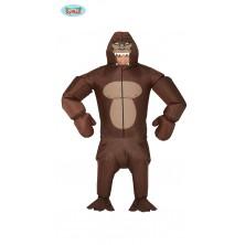 Gorila - nafukovací kostým s dúchadlom