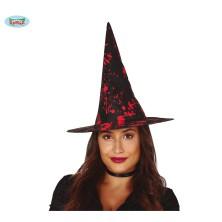 Čierno-krvavý čarodejnícky klobúk