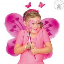 Set Motýlik - růžový