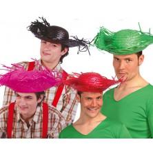 Slamený klobúk rozstrapkaný