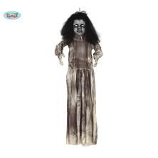 Zombie bábika s led svetlom