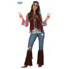 Hippie dievča