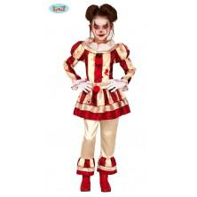 Pruhovaný klaun detský